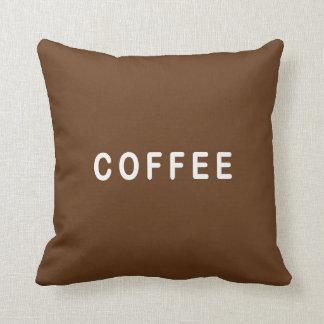Almofada Coxim da escolha engraçada do café ou do chá