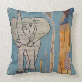 Almofada Coxim da música do elefante