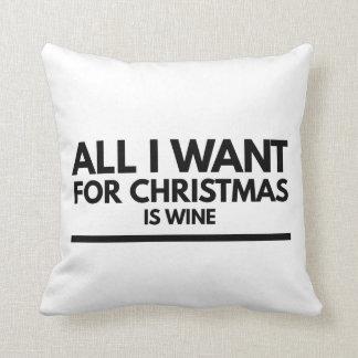 Almofada Coxim da novidade, tudo que eu quero para o Natal