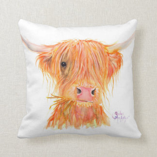"""Almofada Coxim de """"Fergus"""" da vaca das montanhas por"""