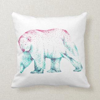 Almofada Coxim do lance da arte do urso polar