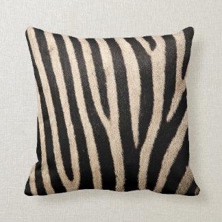 Almofada Coxim do lance da coleção da pele da zebra