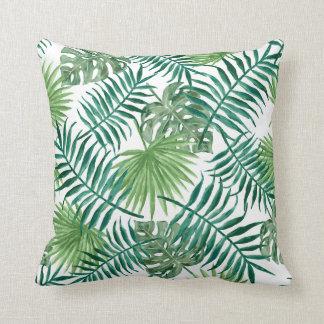 Almofada Coxim do lance das folhas de palmeira