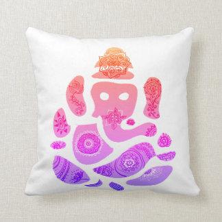 Almofada Coxim do lance do deus de Colorfull Ganesha