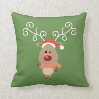 Almofada Coxim do Natal da rena