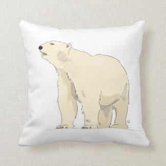 Almofada Coxim do urso polar