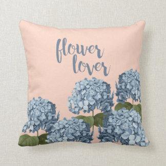 Almofada Coxim floral do amante da flor