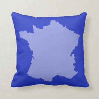 Almofada Coxim francês do design do mapa