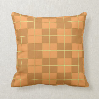 Almofada Coxim natural do design do teste padrão do azulejo