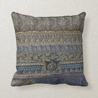 Almofada Coxim real do lance do mosaico - 41cm x 41cm