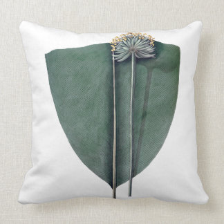 Almofada Coxim tropical do verde da flor