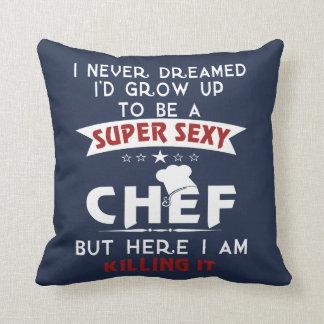 """Almofada Cozinheiro chefe """"sexy"""" super"""
