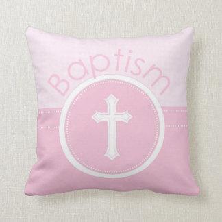 Almofada Criança customizável, cor-de-rosa da menina do