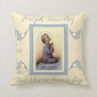 Almofada Criança personalizada Jesus do menino que praying