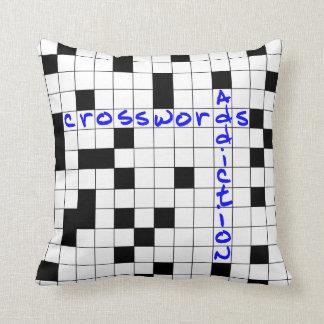 Almofada Crosswords addiction