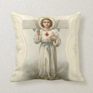 Almofada Cruz sagrado do coração do Jesus Cristo