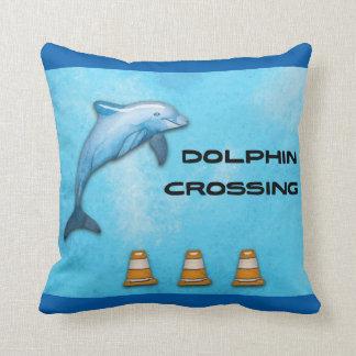Almofada Cruzamento do golfinho