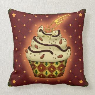 Almofada Cupcake delicada com amêndoas
