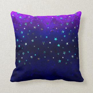 Almofada Da noite bonita da galáxia do espaço imagem