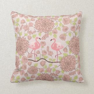 Almofada Dália cor-de-rosa, travesseiro decorativo do teste