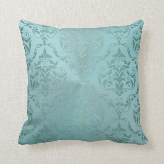 Almofada Damasco do vintage no travesseiro decorativo