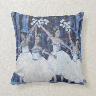 Almofada Dança dos flocos de neve mim balé do Nutcracker