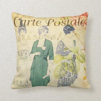 Almofada Das senhoras elegantes do Victorian do vintage