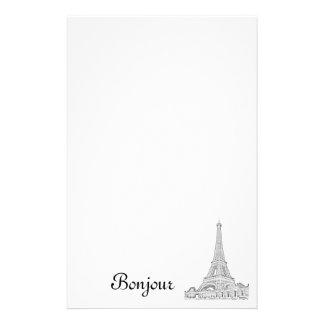 Almofada de nota da torre Eiffel Papelaria