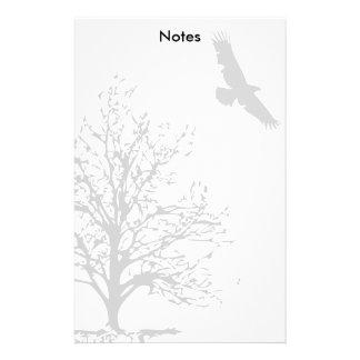Almofada de nota de Eagle do vôo Papelaria