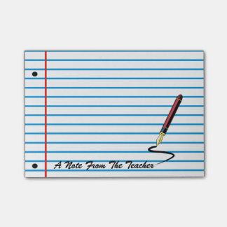 Almofada de nota do post-it do papel do caderno do bloquinhos de notas