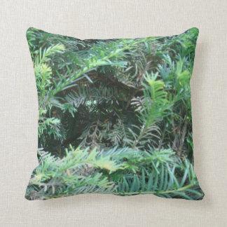 """Almofada De """"travesseiro do Yew da floresta Sherwood"""""""