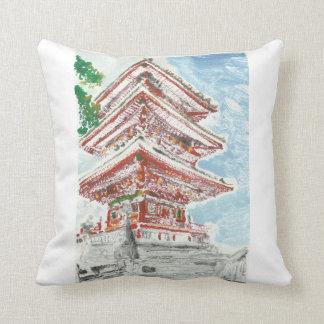 Almofada Decoração da casa do travesseiro do templo de
