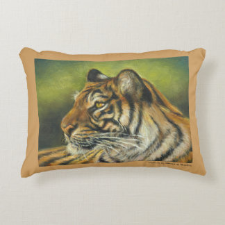 """Almofada Decorativa 12"""" x 16"""" travesseiro decorativo do tigre"""