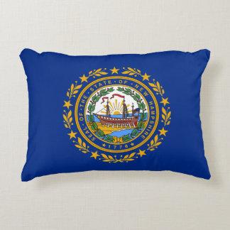 Almofada Decorativa A bandeira de New Hampshire