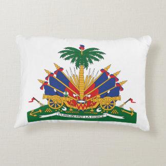 Almofada Decorativa A brasão de Haiti