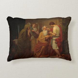 Almofada Decorativa Agosto Malmstrom - Tobias que cura seu pai cego