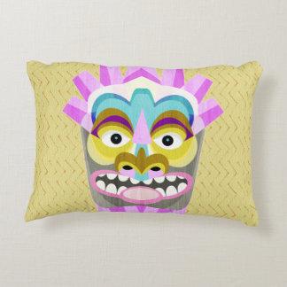 Almofada Decorativa Aloha monstro engraçado da cabana de Tiki