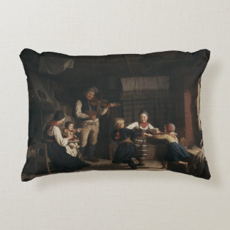 Almofada Decorativa Amalia Lindegren - domingo à noite em uma casa da