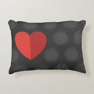 Almofada Decorativa Amor que você descansa com coração