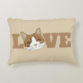Almofada Decorativa AMOR - travesseiro de sorriso feliz bonito do