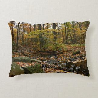 Almofada Decorativa Angra da queda com reflexão no parque do monte do