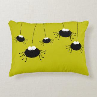 Almofada Decorativa Aranhas de suspensão bonitos do Dia das Bruxas