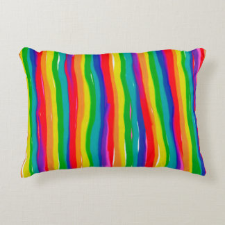 Almofada Decorativa Arcos-íris pintados