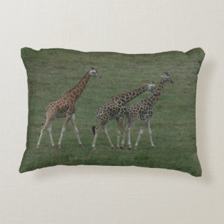 Almofada Decorativa As objectivas triplas do girafa personalizam