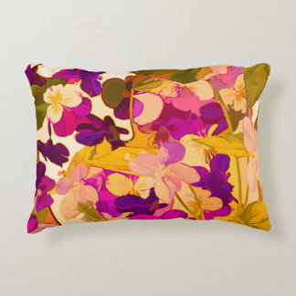 "Almofada Decorativa As violetas no acento do sol descansam 16"" X12 """