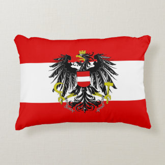 Almofada Decorativa Bandeira austríaca