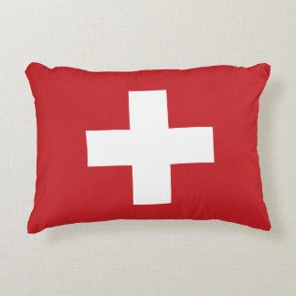 Almofada Decorativa Bandeira da suiça