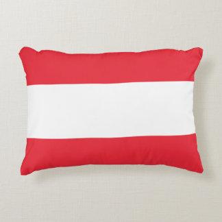 Almofada Decorativa Bandeira de Áustria