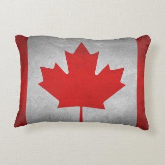 Almofada Decorativa Bandeira de Canadá - travesseiro