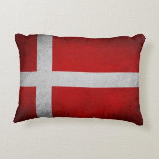 Almofada Decorativa Bandeira de Dinamarca - travesseiro